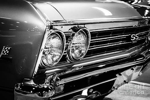 Paul Velgos - SS396 Chevelle Black and White Picture