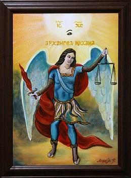 St. Arhangel Michael by Marija Ristovic