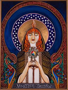 St. Brigid of Killdeer  by Fr Barney Deane