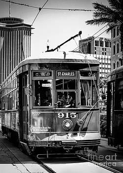 Kathleen K Parker - St. Charles Ave.Streetcar BW