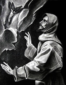St Francis of Assisi by Enrique Garcia