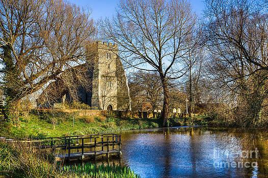 English Landscapes - St Georges Arreton Carp Pond