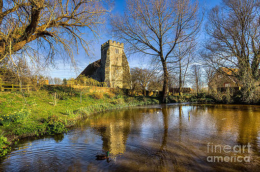 English Landscapes - St Georges Arreton Pond