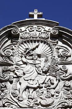 James Brunker - St James the Moor-Slayer Carving