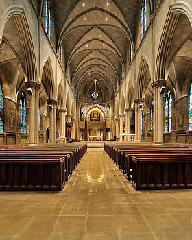 St Joseph Cathedral III by Dick Wood
