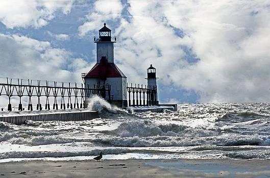 St Joseph Lighthouse by Cheryl Cencich