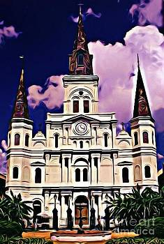 John Malone - St Louis Cathedral in New Orleans
