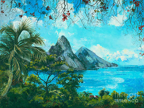 St. Lucia - W. Indies by Elisabeta Hermann