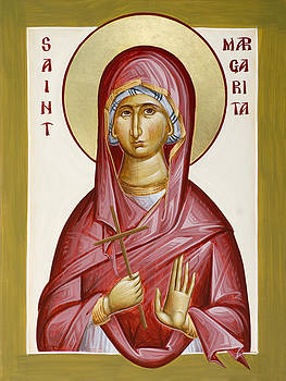 St Margarita by Julia Bridget Hayes