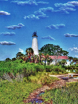 St. Marks Light House by Mike Bass