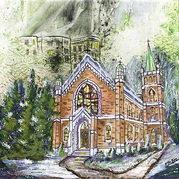 St. Mary's Catholic by Edith Hardaway