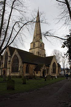 St. Mary's Church Cheltenham by Theresa Selley
