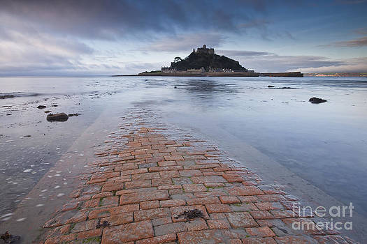 St Michael's Mount in Cornwall by Julian Elliott