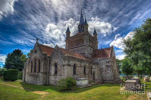 English Landscapes - St Mildreds Church IOW