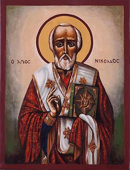 St. Nicholas of Myra and lycia by Fr Barney Deane