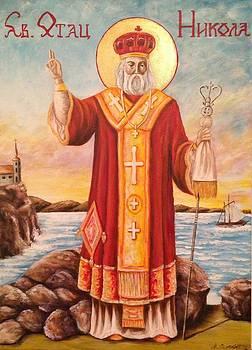 Sveti Nikola by Marija Ristovic