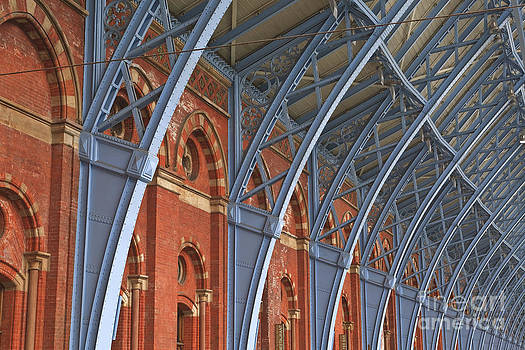 St Pancras in London by Julian Elliott