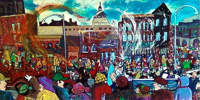 St Paul Winter Carnival love parade by Richard  Hubal