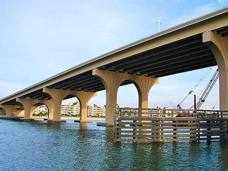 St. Pete Florida Bridge by Ella Char