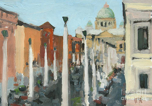 St. Peters Rome by William Noonan