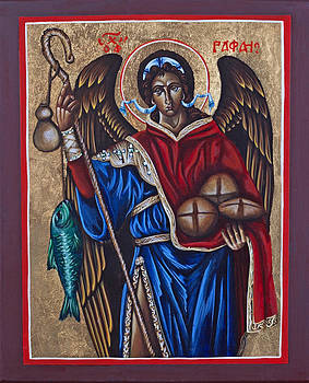 St. Raphael Arch-angle   by Fr Barney Deane