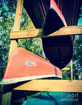 Sonja Quintero - Stacked Caddo Canoes