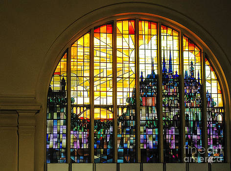 Stained Glass Luxembourg by Victoria Harrington