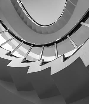 Stair Steps - Abstract by Steven Milner