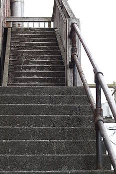 Stairs to a better life by Donald Torgerson