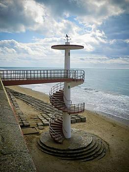 Stairway Cadiz Beach by Greetje Kamps