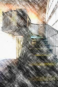 Stairway by Liane Wright