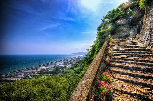Stairway Temple by John Swartz