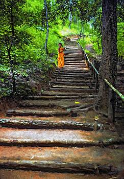 Steve Harrington - Stairway to Heaven impasto