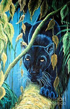 Nick Gustafson - Stalking Black Panther