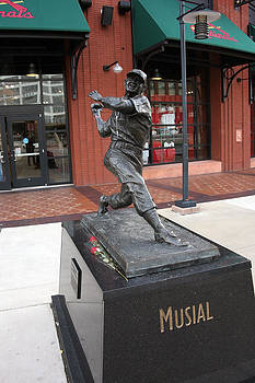 Stan-the-man Musial by Al Blount