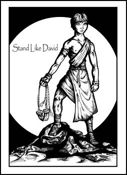 Stand Like David by Derrick Rathgeber