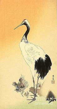 REPRODUCTION - Standing Crane