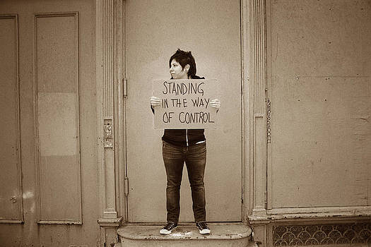 Standing In The Way of Control by Beth Achenbach