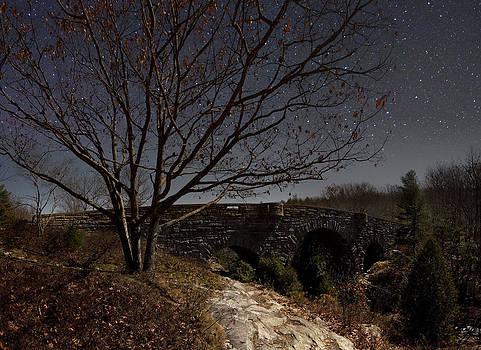 Stanley Brook Bridge by Brent L Ander