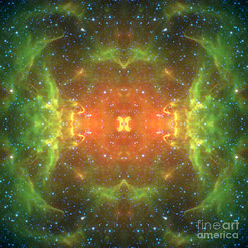 Star Gate Abstract Space Art by Animated Sentiments