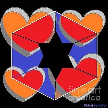 Star heart by Dhiraj Parashar