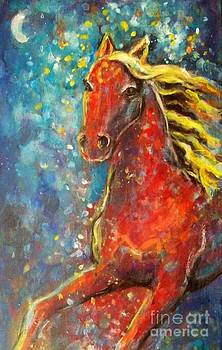 Star horse by Relly Peckett