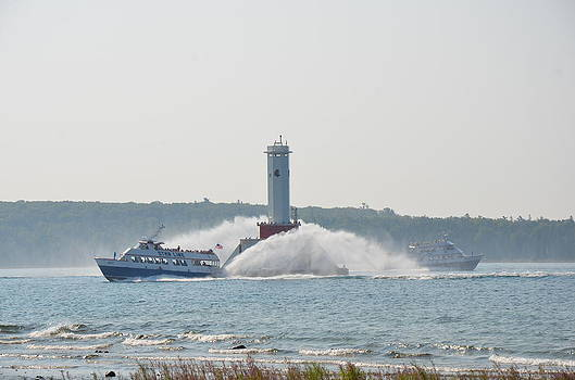 Star Line Ferry by Brett Geyer