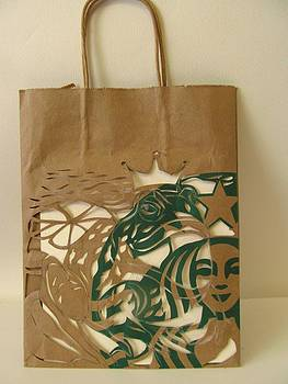 Alfred Ng - Starbucks Mermaid with her Prince Charming
