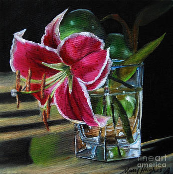 Stargazer Lily by Mary Hughes