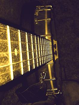 Staring down the Frets  by  Jeff Mantz Rhodes