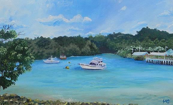 Chaguaramas Bay by Samantha Rochard
