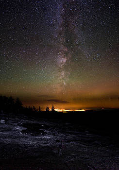 Stars Over Cadillac Mountain by Brent L Ander