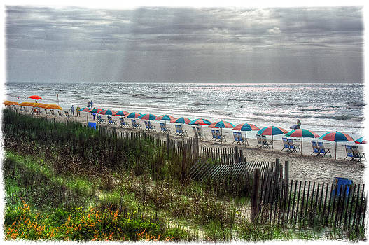 Start of the Day - Myrtle Beach by Geraldine Alexander