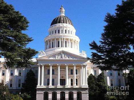 state capital building sacremento Ca by Sherri Durrell